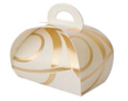 Упаковка для конфет, из картона, с тиснением, не клеевая, сборная.